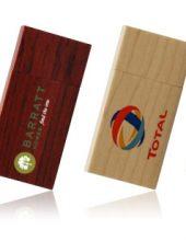 Rectangular Wood USB