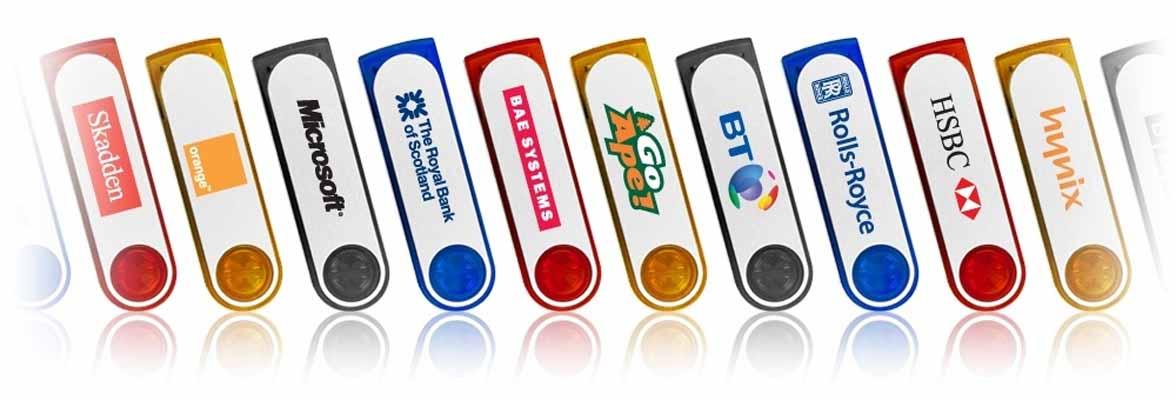 Plastic & Aluminium USB