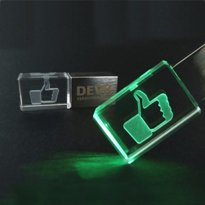 acrylic and metal USB